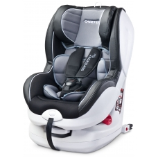 Automobilinė kėdutė DEFENDER PLUS, ISOFIX, GREY, CARETERO