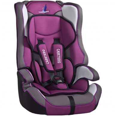 Automobilinė kėdutė VIVO, PURPLE, CARETERO