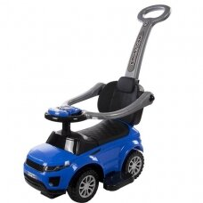 Stumdukas SunBaby SPORT CAR 3in1, mėlynas