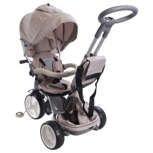 Triratukas QPLAY 6in1 LittleTiger, beige