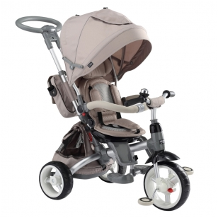 Triratukas 6 in 1 LITTLE TIGER T-500, BEIGE, SUN BABY