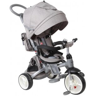 Triratukas QPLAY 6in1 LittleTiger, grey melange