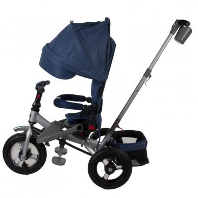 Triratukas Sun Baby QPLAY 5in1 Little Tiger, mėlynas 2