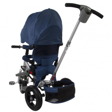 Triratukas Sun Baby QPLAY 5in1 Little Tiger, mėlynas 3